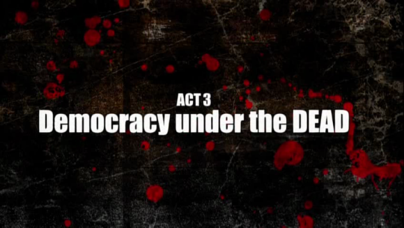 Democracy under the dead