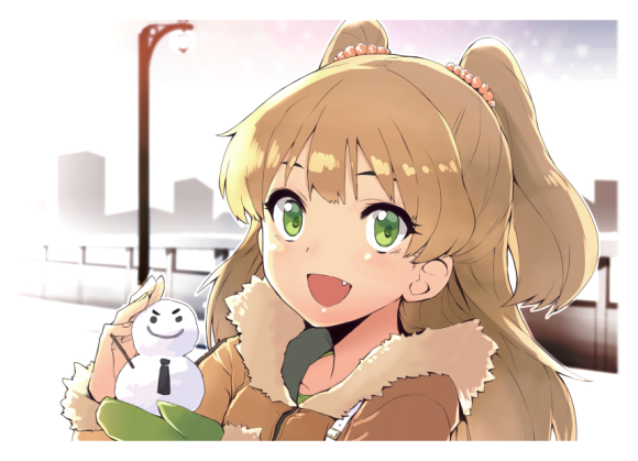 Have a loli, I mean lovely, winter