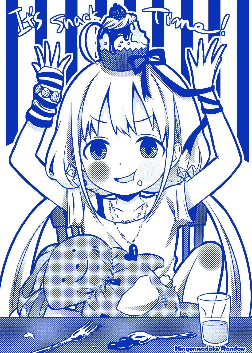 Even Anzu is celebrating